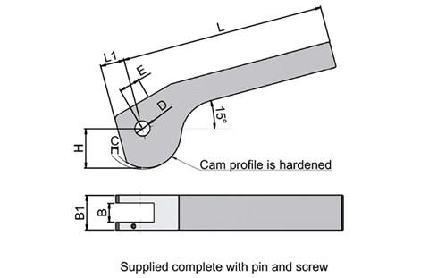 Double Cam Lever (WDS 619)