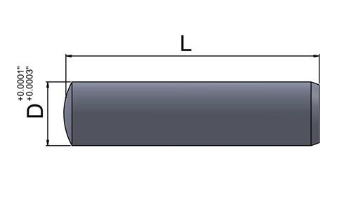 Dowel Pin - Imperial Inch (WDS 662)