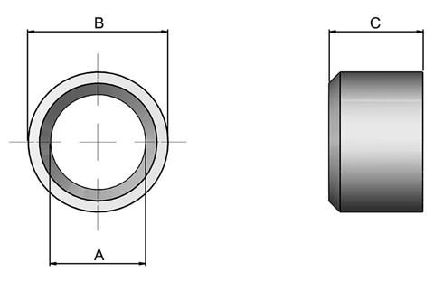Liner Bushes - Ball Lock (WDS 7120)