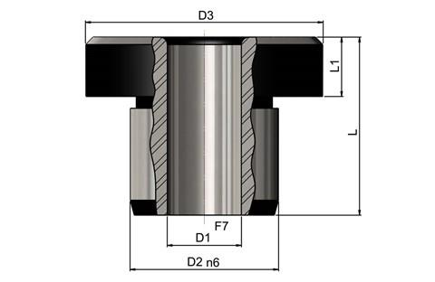 Headed Drill Bushes to DIN172 Standard-Long (WDS 779)
