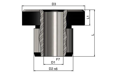 Headed Drill Bushes to DIN172 Standard-Short (WDS 779)