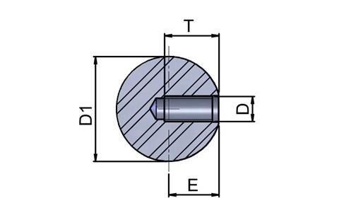 Ball Knob - 316 Stainless Steel (WDS 8230)