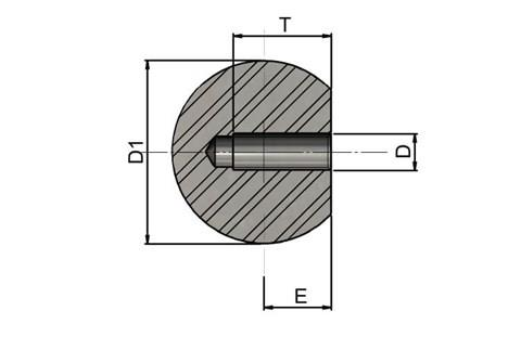 Ball Knob - 304 Stainless Steel (WDS 8231)